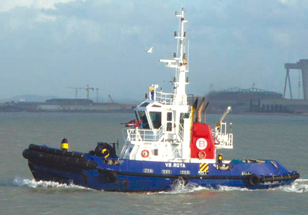 Reverse Tractor Tug.